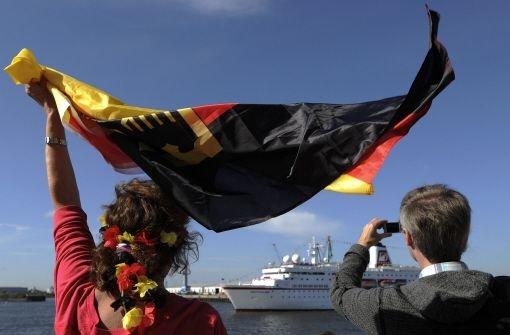 Deutsches Olympia-Team in Hamburg eingetroffen