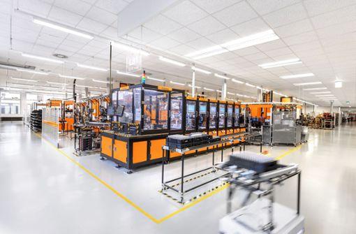 Eine Fabrik wie ein Schaufenster