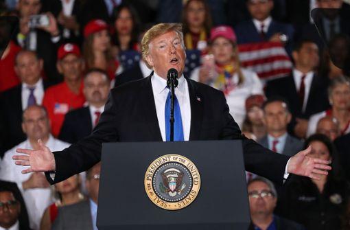 16 Bundesstaaten verklagen Donald Trump