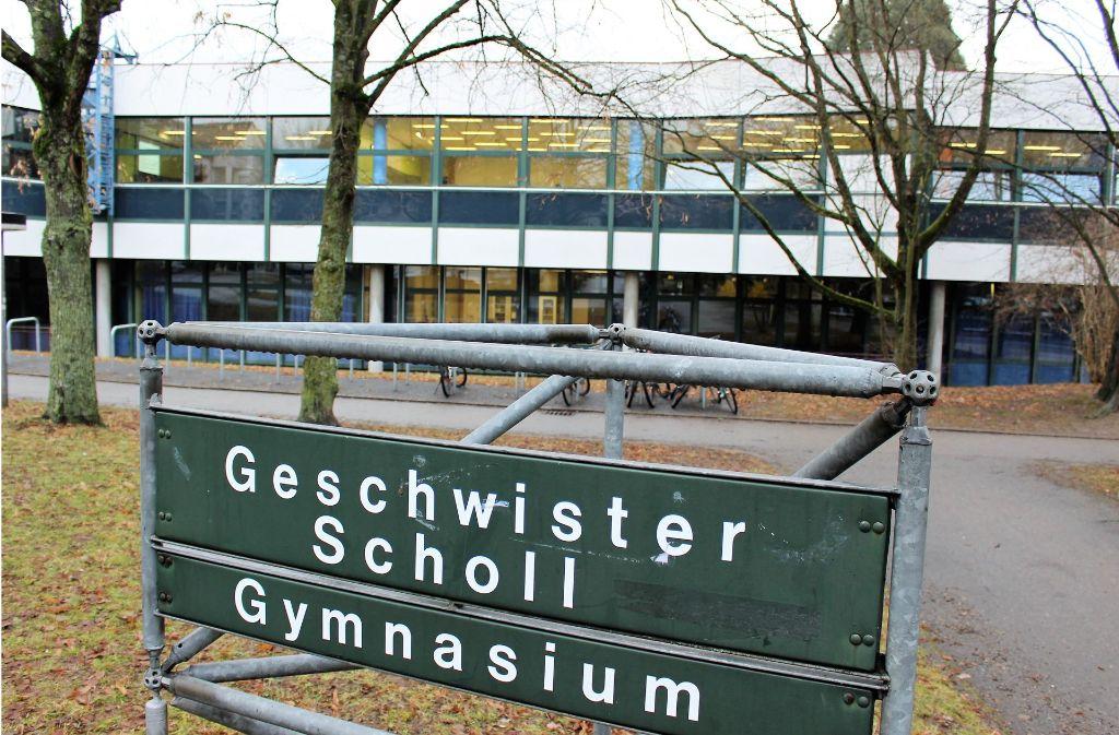 Wird das Geschwister-Scholl-Gymnasium in Stuttgart-Sillenbuch neu gebaut? Foto: Caroline Holowiecki