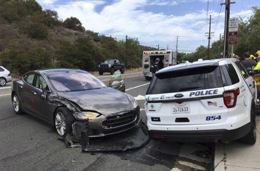 Weiterer Unfall mit eingeschalteter Autopilot-Software