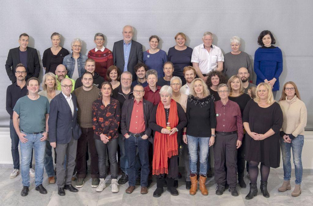 Die Kandidaten der SÖS für die Kommunalwahl Foto: Jo Röttger