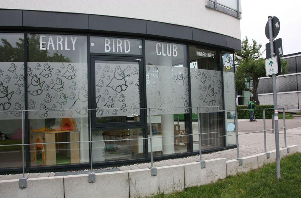 Die Kinderkrippe Early Bird Club in Leinfelden will von September an auch Kindergartenkinder aufnehmen. Foto: Natalie Kanter