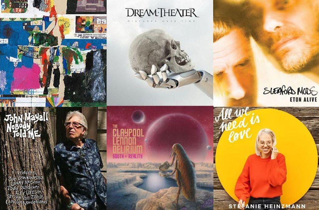 Neu am 22. Februar: Bilderbuch, Dream Theater, Sleaford Mods, John Mayall, Clayppol/Lennon und Heinzmann Foto: red