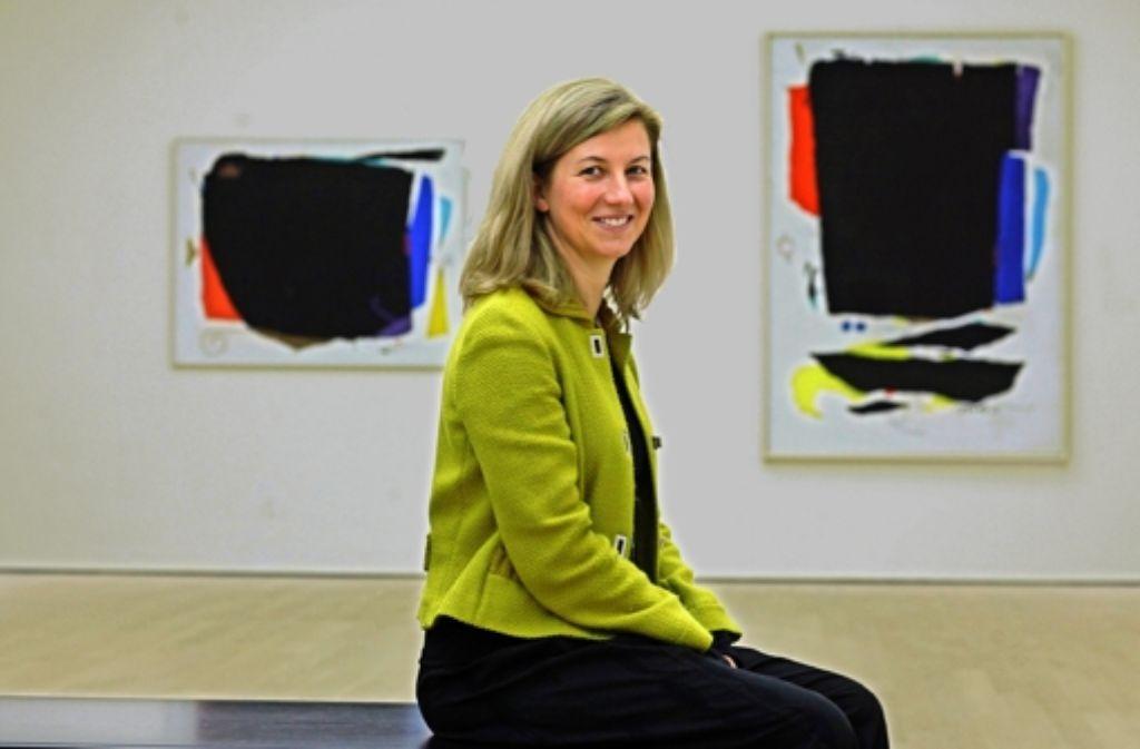 Erfolgreich: Die Direktorin des Stuttgarter Kunstmuseums Ulrike Groos. Foto: Frank Eppler