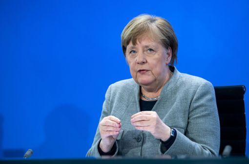 """Kanzlerin bezeichnet Lockerungen der Länder als """"forsch"""""""