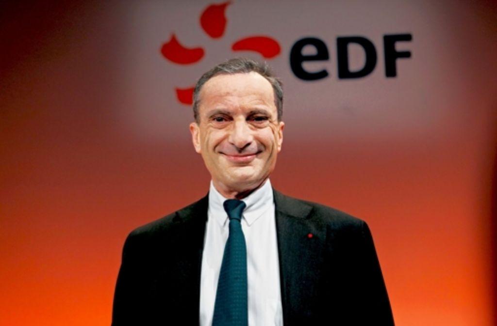 Scharfe Reaktion auf die Klage des Landes: EdF-Chef Henri Proglio Foto: EPA