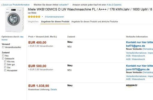 Wie Online-Betrüger bei Amazon Marketplace tricksen