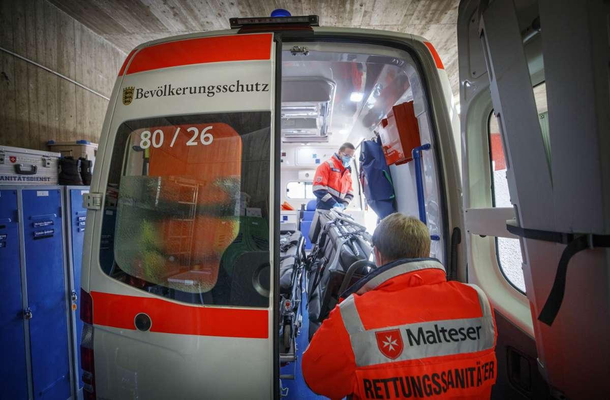Auch die Rettungswache der Malteser in Hertmannsweiler soll noch in diesem Jahr auf einen Rund-um-die-Uhr-Betrieb umgestellt werden. Foto: Gottfried Stoppel