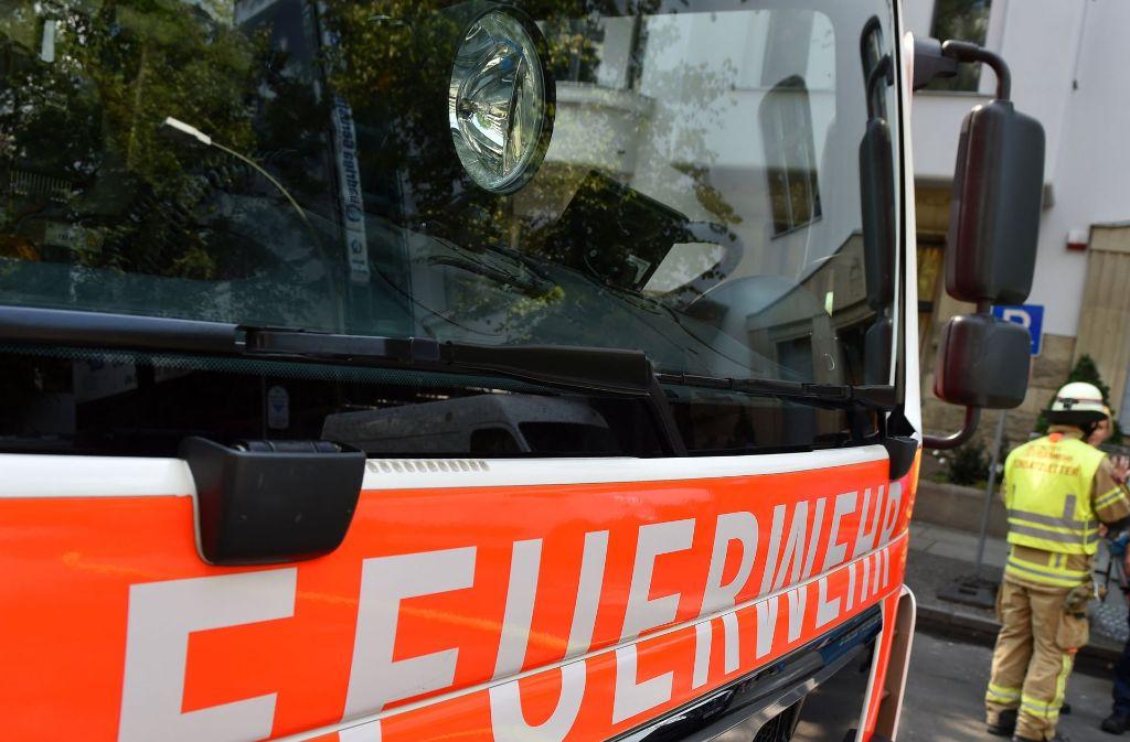 Die Feuerwehr rückte an. Foto: dpa