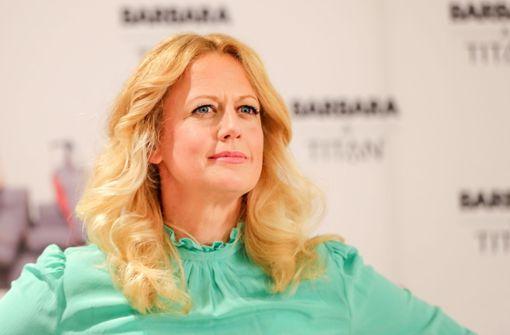 Barbara Schöneberger lädt zum Plausch