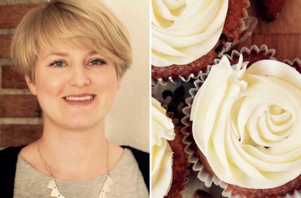 Von Jasmin Schlaich von Oh, wie wundervoll gibts diesmal das Rezept für 12 Zitronen-Mandel-Cupcakes. Foto: Oh wie wundervoll