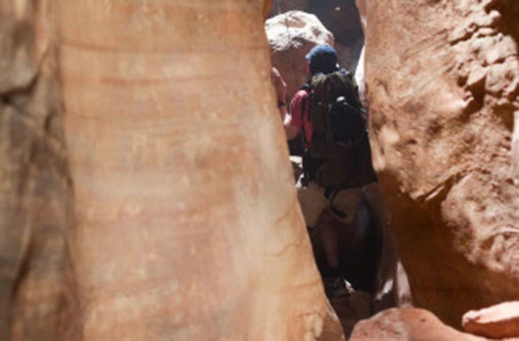 Im Film 127 Hours wird Aron Ralston von James Franco (Foto) gespielt. Foto: Verleih