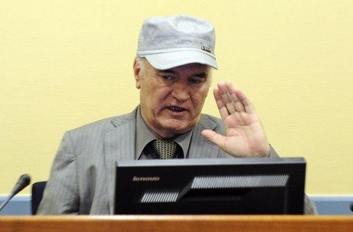 Mladic bestreitet die Vorwürfe