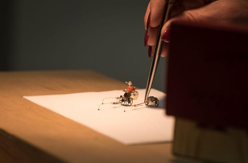 Die kleinen Artisten ziehen Wagen. Foto: Lichtgut/Max Kovalenko