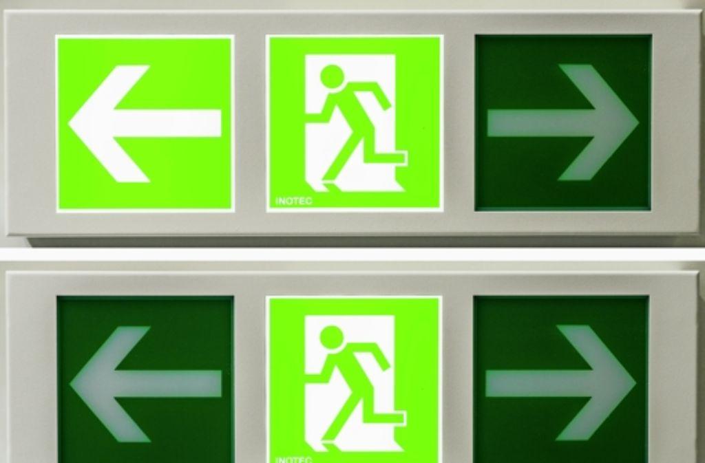 Die neuen Arbeitsschutzregeln, zu         denen Fluchtwegpläne gehören, machen Ärger. Foto: dpa