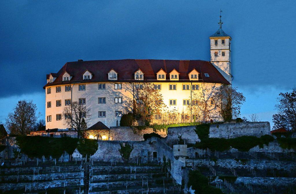 Die Grafen von Vaihingen errichteten die Burg Kaltenstein, die später aufwendig zum Schloss umgebaut worden ist. Foto: Martin Kalb