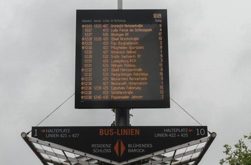 Elektronische Fahrplanauskunft  in Echtzeit