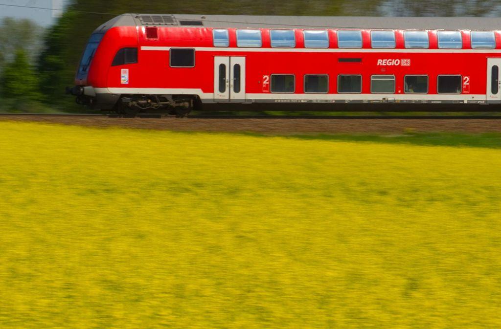 Der Dreijährige fuhr etwa 20 Minuten mit der Bahn davon. Foto: Patrick Pleul/dpa-Zentralbild