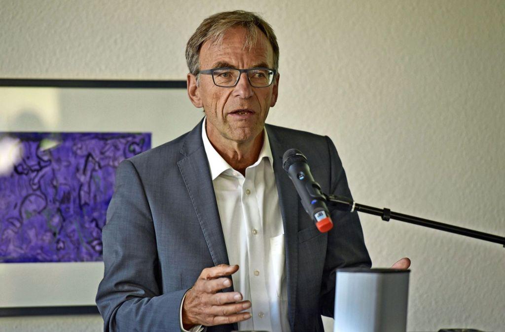 Ex-Krankenhausbürgermeister Werner Wölfle steht in der Kritik. Foto: Lichtgut/Max Kovalenko