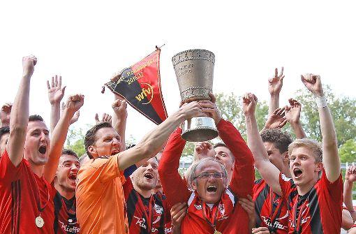 Fußball: Dorfmerkingen gewinnt Finale gegen Stuttgarter Kickers