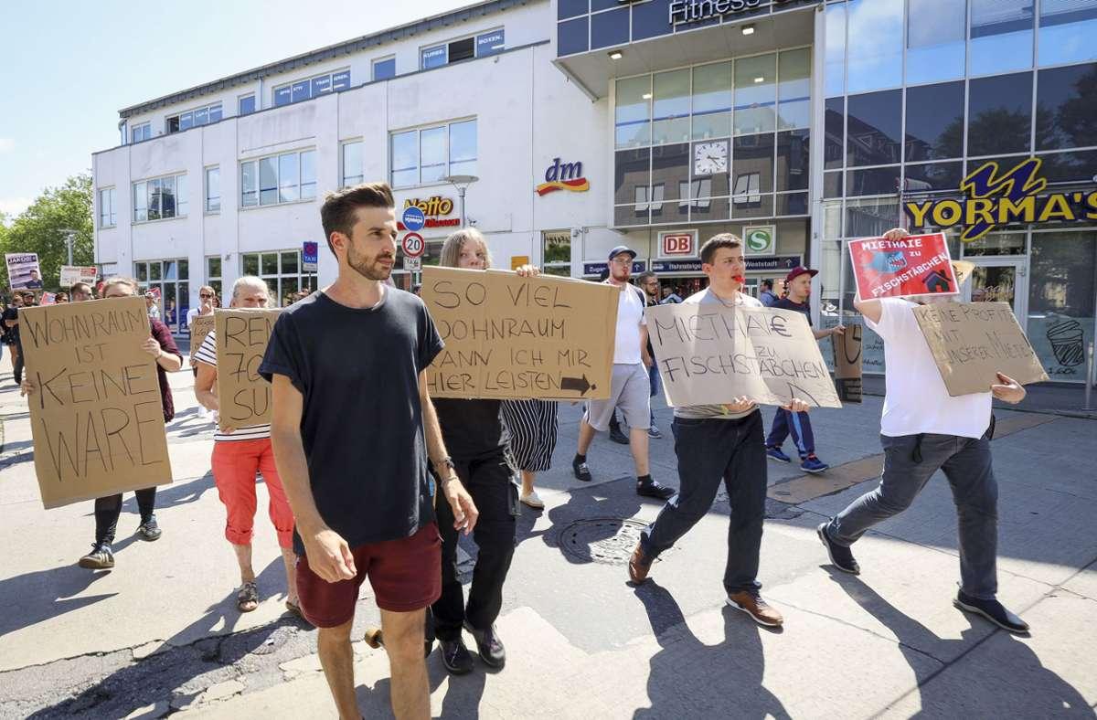 Nicht nur beim OB-Wahlkampf im vergangenen Jahr war die Ludwigsburger Wohnungsknappheit ein Thema. Foto: factum//Simon Granville