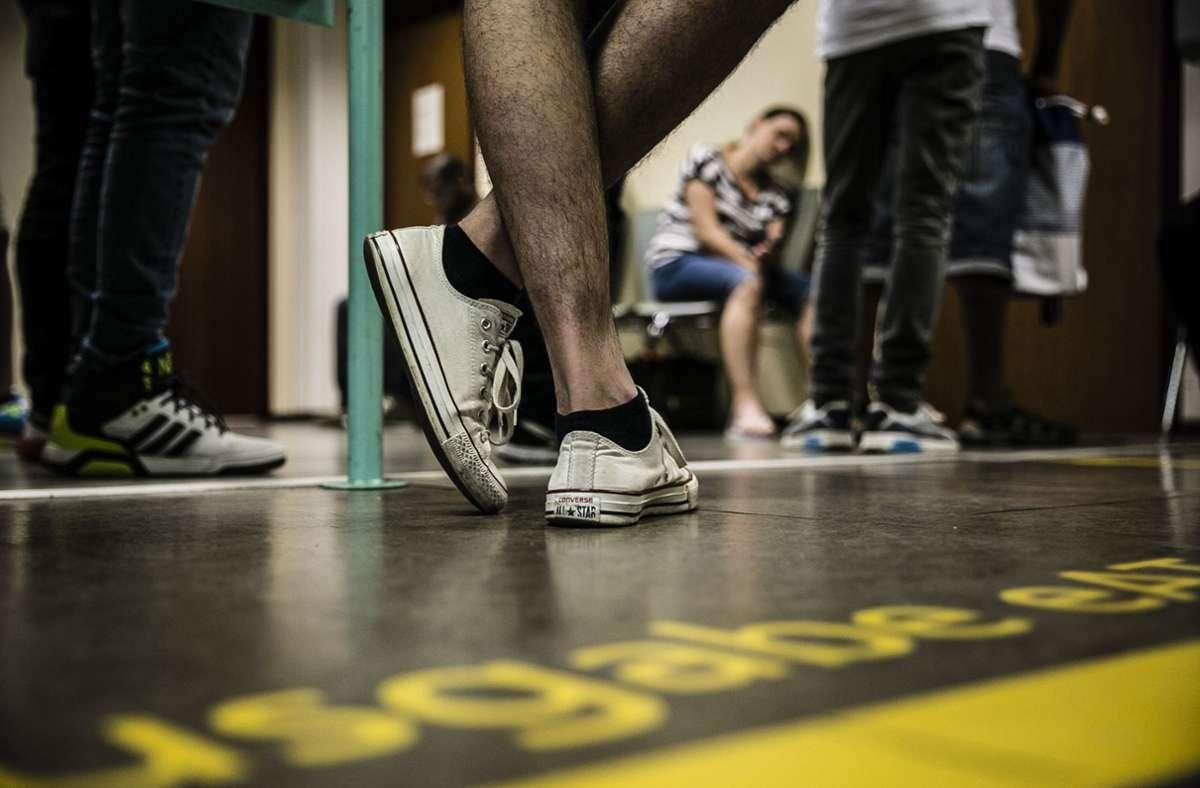 Die Esslinger Ausländerbehörde kann derzeit nur sehr dringende Fälle bearbeiten. Foto: Lichtgut/Leif Piechowski/Lichtgut/Leif Piechowski