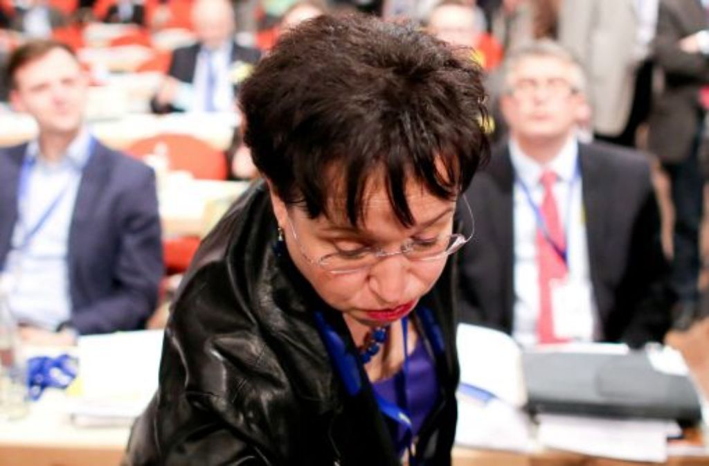 Birgit Homburger hat harte Wochen hinter sich. Foto: dpa