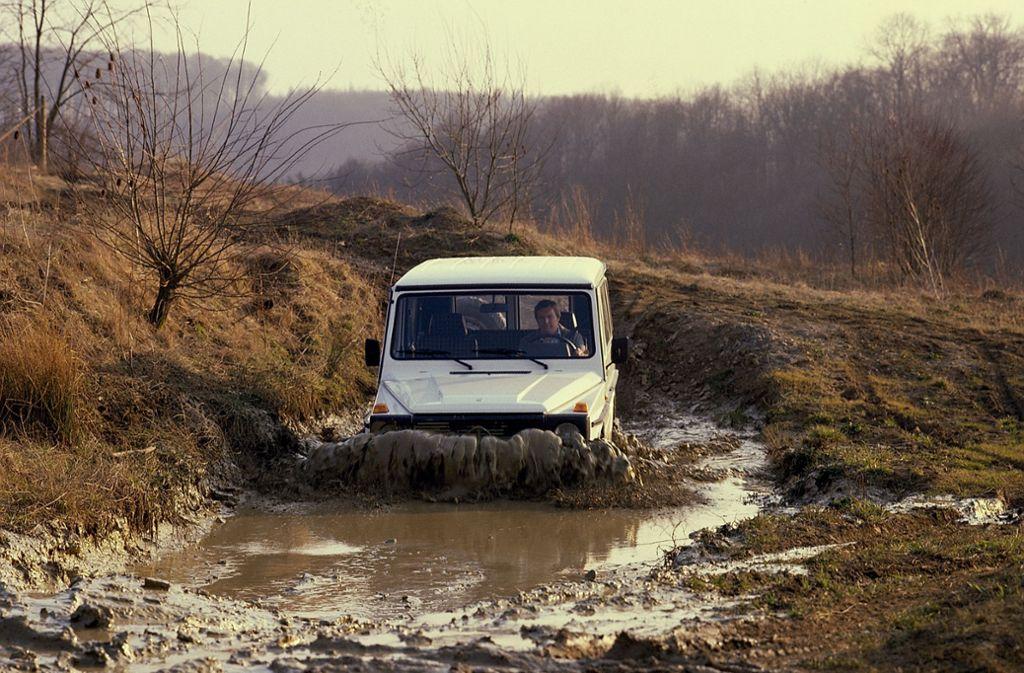 Einstmals Offroad, heute Prestigeobjekt: Die Mercedes G-Klasse gibt es seit 40 Jahren. Foto: Daimler AG