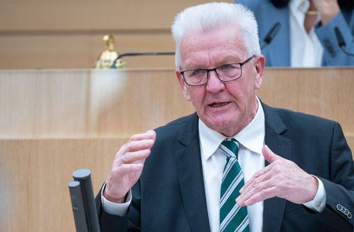 """Winfried Kretschmann: """"Durchhalten auf den letzten Metern"""""""