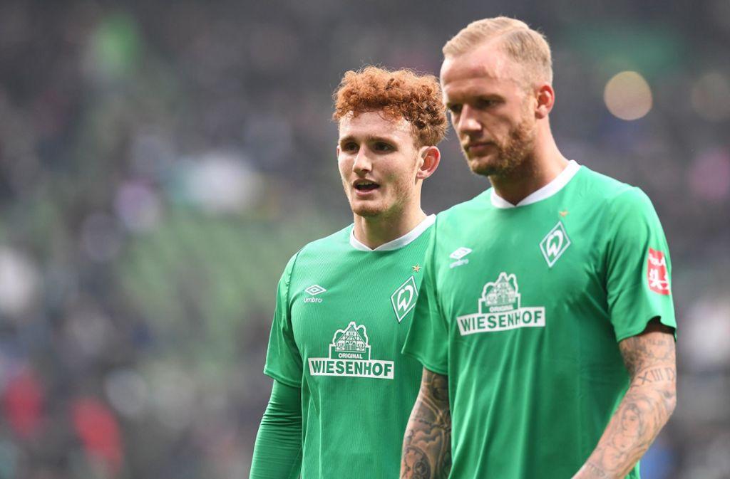 Die sechste Saisonniederlage im Weserstadion: Werder Bremen hängt weiter im Abstiegskampf. Foto: dpa/Carmen Jaspersen