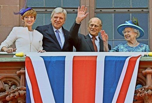 Auch die Hessen  feiern die Queen