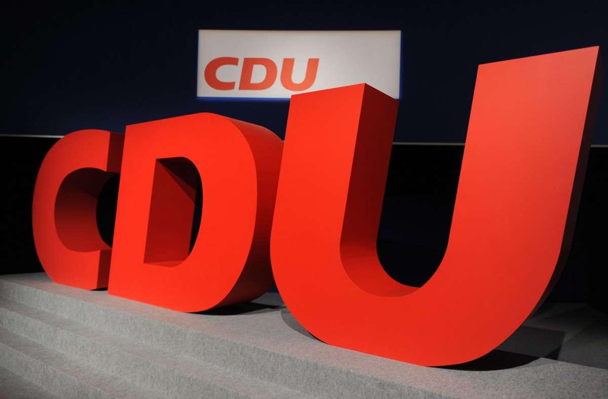 Die CDU in Baden-Württemberg ist um 7,9 Punkte abgestürzt. (Symbolbild) Foto: dpa/Arno Burgi