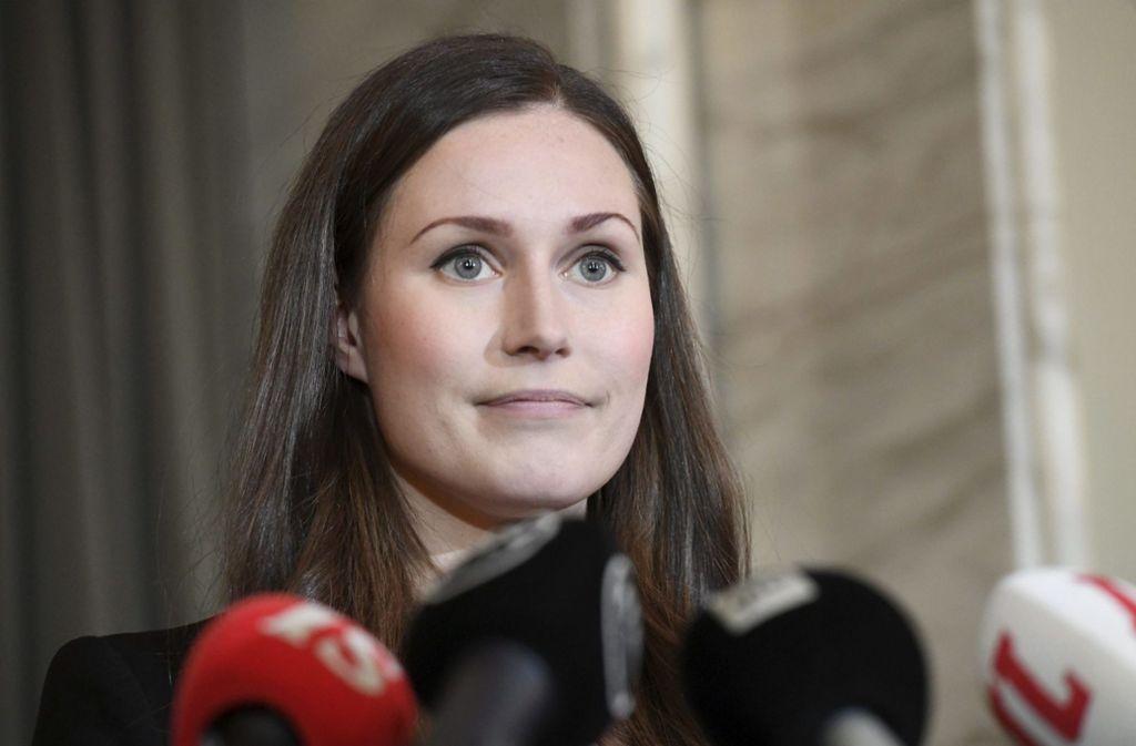 Sanna Marin ist die jüngste Regierungschefin der Welt. Foto: dpa/Heikki Saukkomaa