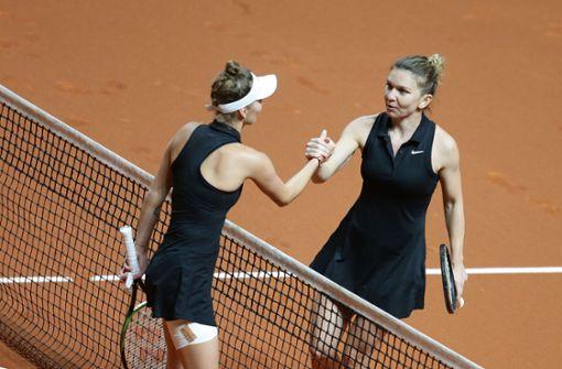 Simona Halep zieht  souverän ins Viertelfinale ein