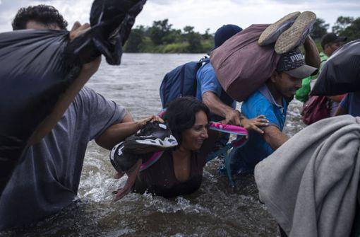 Migranten erwartet erschwerte Einreise aus Mexiko