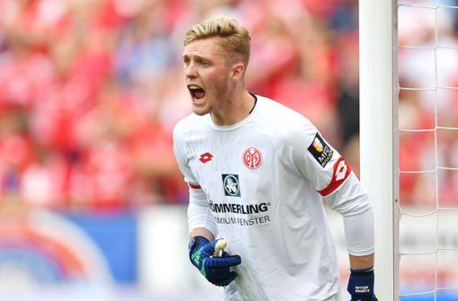1. FSV Mainz 05 mit Florian Müller als Nummer eins