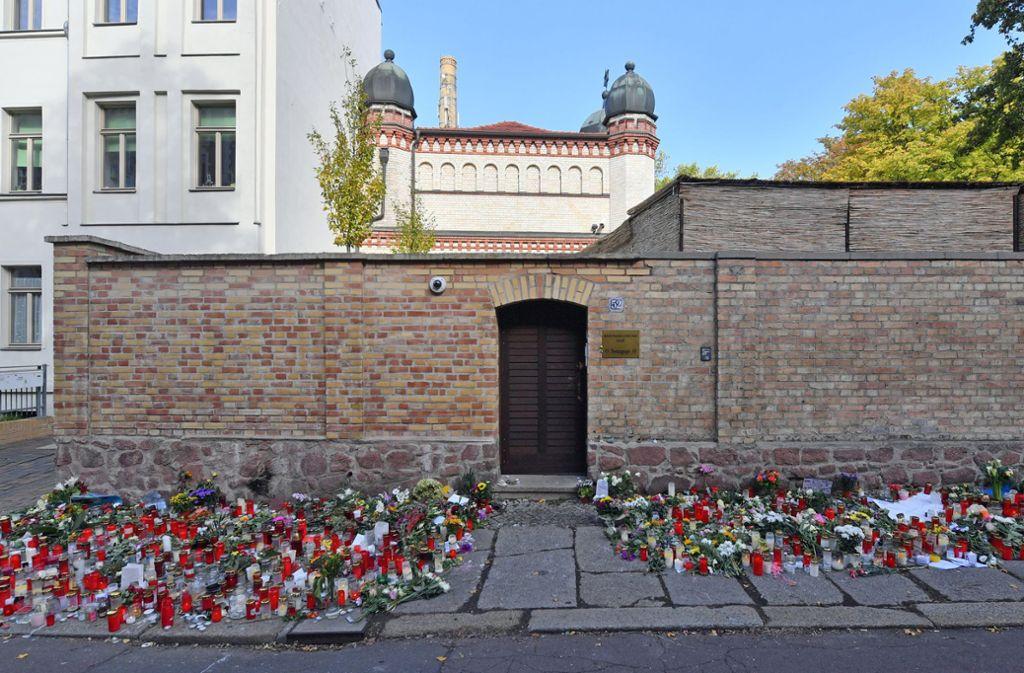 Nach dem Terroranschlag von Halle will die CDU-Spitze ein Eckpunktepapier mit Maßnahmen verabschieden. Foto: dpa/Hendrik Schmidt
