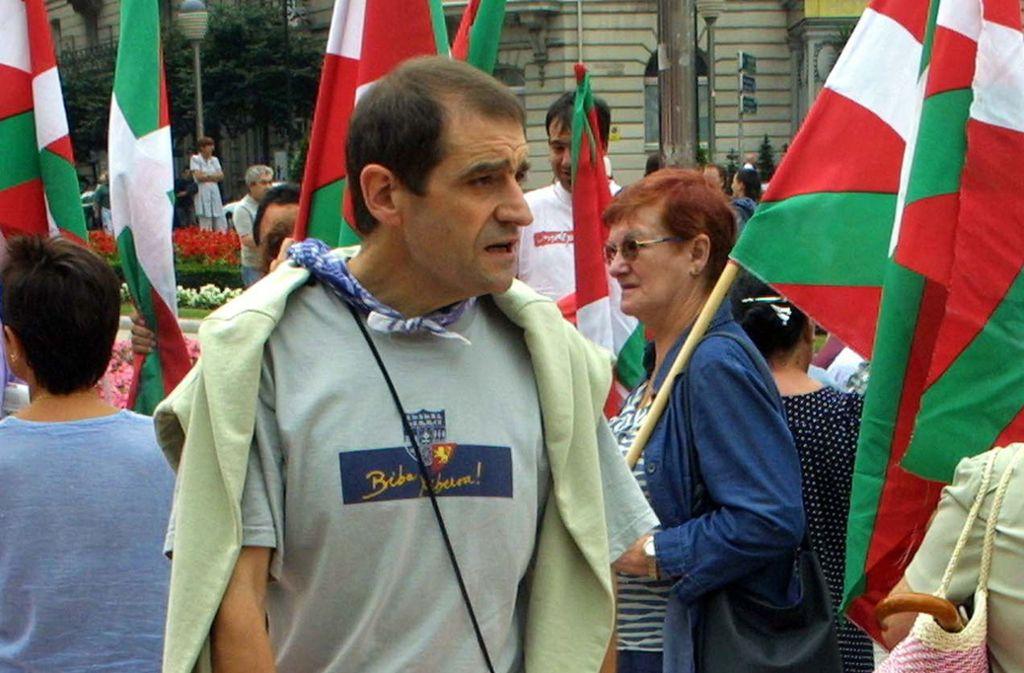 Josu Ternera war seit 2002 auf der Flucht. Foto: AFP