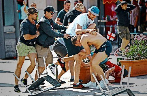 Fußballfans befürchten ein Festival der Gewalt