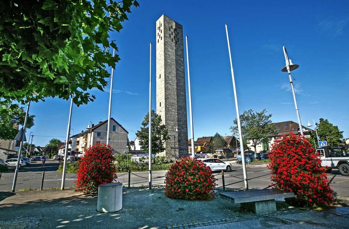 Das Stadtbild hat sich durch den Abriss der Kirche gewandelt. Nur der Turm erinnert noch an die Johanneskirche.. Foto: Ines Rudel