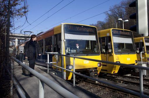 Umbau der Heslacher Hochbahnsteige