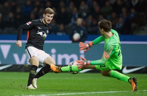 Timo Werner schießt Leipzig zum Sieg – Hertha-Fans schweigen