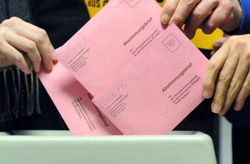 Votum ist eng an die Partei gekoppelt