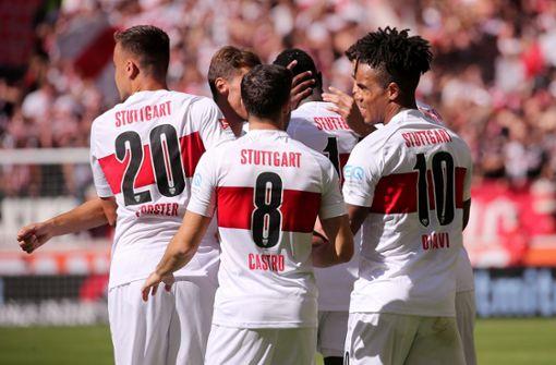 VfB feiert glücklichen Sieg gegen Kleeblätter