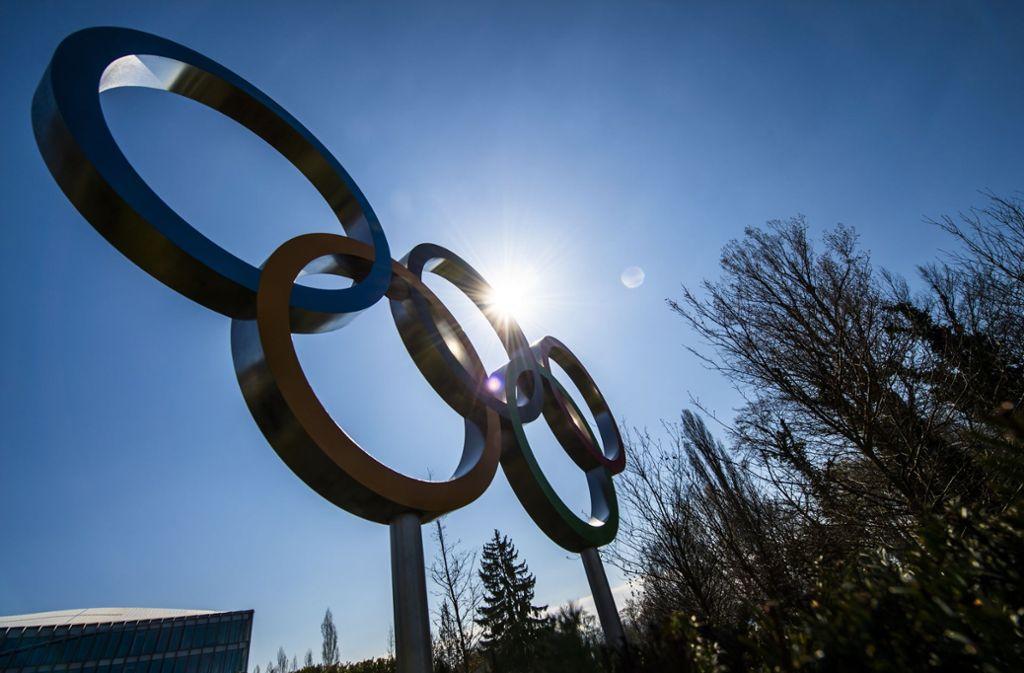 In diesem Jahr wird es aufgrund des Coronavirus keine Olympischen Spiele geben. Foto: dpa/Jean-Christophe Bott