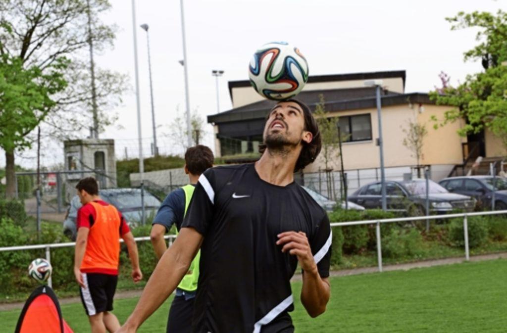 Nach seiner Knie-OP arbeitet  Sami Khedira an der  Rückkehr zu  Real Madrid. Foto: Sigerist