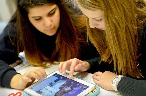Schritt zur Digitalisierung der Schulen