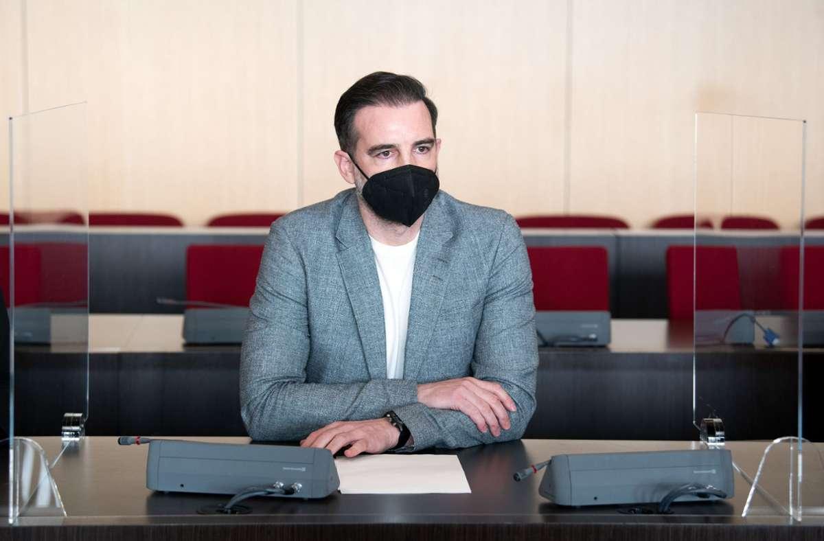 Christoph Metzelder wurde vergangene Woche wegen Besitzes und Weiterleitung von kinder- und jugendpornografischen Dateien zu einer Bewährungsstrafe verurteilt. Foto: dpa/Federico Gambarini