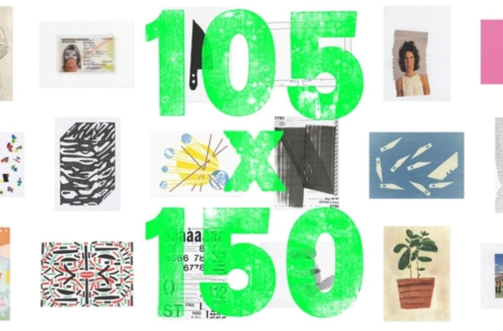 Kreativ sein für den guten Zweck – Studenten und Künstler aus aller Welt haben über 500 Postkarten in kleine, individuelle Kunstwerke verwandelt, die es bei einer Vernissage in der Akademie der Bildenden Künste zu kaufen geben wird. Foto: Klasse Thomas